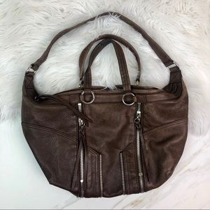 The Sak Leather Brown Hand Bag